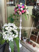 Satılık yeni ürün modern tarzı yapay çiçek aranjmanları uzun boylu vazo çiçek aranjmanları