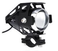 Motosiklet LED Far Yüksek Güçlü 125 W Su Geçirmez 3000LM U5 Motosiklet Sürüş Sis Spot Kafa Işık Lambası