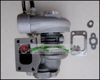 PERKIN-S Tarım Turbo Phaser 115Ti RVI Kamyon T4.40 4.0L TB2558 452065-0003 2674A150 727530 758817 Turbo contaları