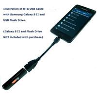 Micro USB Host Câble OTG 10 cm 5pin mini usb câble pour tablette pc mobile mp4 mp5 Téléphone intelligent Livraison Gratuite 500 pcs / lot
