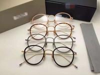 العلامة التجارية الجديدة TB905 النظارات إطارات TB-905 نظارات للرجال والنساء الكمبيوتر البصرية إطار نظارات إطار جولة