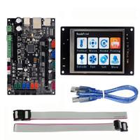 Freeshipping stampante 3D piattaforma a braccio 32bit scheda di controllo liscia MKS SBASE V1.3 + MKS TFT32 3.2 '' LCD Touch Display