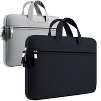 """11-13.3 pouces Sleeve d'ordinateur portable 11.6 12 13 """"Pour Apple MacBook Air Pro Retina Cover Cover Sac de protection Ultrabook Porte-documents portant Porte-documents"""