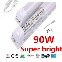 25 Pack Double Row Integrated T8 8ft Led Tube Light Cold Whi...