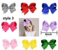 HOT SALE ! 4Inch Girl' s Fashion Boutique Bows With Clip...