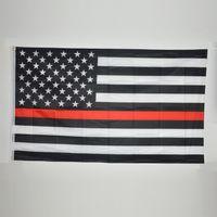 4 Arten Blaue Linie USA-Flaggen 3 Durch 5 Fuß Dünne Rote Linie US-Flagge Schwarze Weiße Und Blaue Amerikanische Flagge
