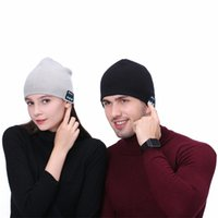 Colorful Bluetooth Music soft Hat With Stereo Headset Speake...