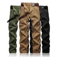 горячей продажа людей штаны Европа американского случайных брюки 3colors 9sizes поясного ремень доступного по цене дополнительной