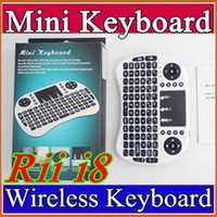 25X Wireless Keyboard rii i8 keyboards Fly Air Mouse Multi- M...