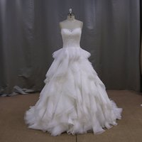 New Style 100% Real Pictures A- line Sweetheart Lace Wedding ...