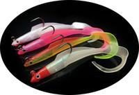 10 шт. / лот 4 Цвет 12 см 8.5 г джиги рыболовные крючки один крючок силиконовые мягкие приманки приманки WL_139