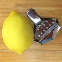 Кухня бар из нержавеющей стали лимон соковыжималка соковыжималка ручной ручной пресс инструменты E00166 оне