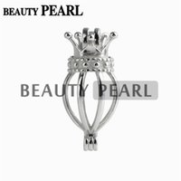 5 Pieces Locket Love Wish Pearl Gifts Fine Sterling 925 Silv...