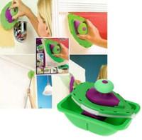 Farbroller und Fach-Satz-Malerei-Bürsten-Punkt N malen Haushalts-dekoratives Werkzeug, das einfach ist, mit Kleinkasten-Paket zu verwenden