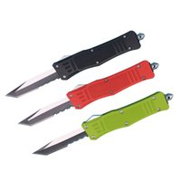Promotion 7 Inch Small 616 Auto Tactical Knife 440C Tanto Ha...