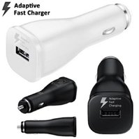 Adaptive Fast Car Adapter für Samsung Galaxy S7 S7 Rand S6 S6 Rand Note5 Auto Ladegerät 100 teile / los