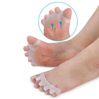 Silicone Pied Soins Gel Oignon Protecteur Toe Séparateurs Lisseurs Correcteurs Hallux Valgus Correction