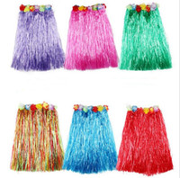 Popular Tassel Child Girl Princess Flower Hula Grass Skirt F...