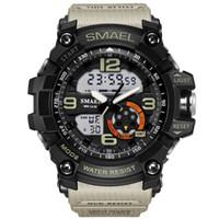 Smael marca men sport watch led digital à prova d 'água choque casual relógios masculinos relogios masculino mens presente militar relógios de pulso gota shippin