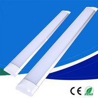 New Surface Mounted LED Batten Double Row Tubes Lights 1FT 2...