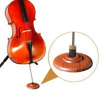 Legno Cello Stopper slittamento non Cello Endpin Stopper Holder Piano Protector Cello Mat Stopper Pad Rose Wood
