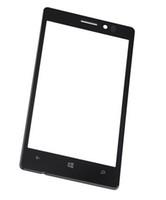 Las piezas de repuesto 4.5 '' para Nokia Lumia 925 N925 frontal del panel de tacto de la pantalla de cristal externa de la lente de calidad probada de alta HIGHSCREEN
