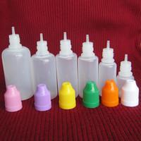 Needle Bottle 5ml 10ml 15ml 20ml 30ml 50ml Soft Dropper bottles CHILD Proof Caps Store most liquid E Vapor Cig Liquid DHL Free