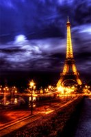 Embroidery Eiffel Tower Full 5D DIY Diamond Painting Needlew...