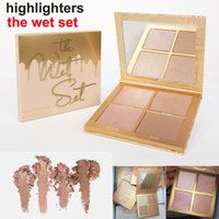 Newest Kylie Jenner The Wet Set 4 color Bronzer & Highlighte...