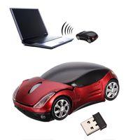 2020熱い販売3Dワイヤレスマウスクールなファッションスーパースポーツカー型マウスUSB 2.4GHz光マウスマウスPCのラップトップコンピューター高品質