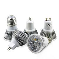슈퍼 밝은 5W E27 E14 GU10 GU5.3 LED 전구 110V 220V MR16 12V LED 스포트라이트 따뜻한 백색광 냉각 화이트 LED 램프