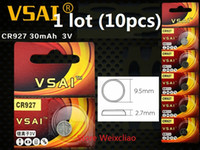 10pcs 1 lot CR927 3V lithium li ion button cell battery CR 9...