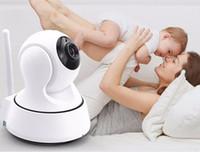 Home Security Sem Fio Mini Monitor de Controle de Câmera IP Câmera de Vigilância Wifi 720 P Night Vision CCTV Monitor Do Bebê Da Câmera Com Caixa De Varejo