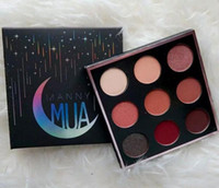 New Makeup Manny MUA Cosmetics 9 color Eyeshadow Pressed Pow...