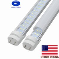 US Stock 25PCS best T8 Led Tubes Light 28W Dual Rows SMD2835...