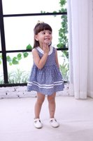 Printing Ruffle Dresses for Back to School Clothes Quality C...