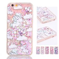 Cartoon Unicorn Phone Case Cover for Apple iphone 6 6S 7 Plu...