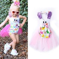 2017 Cute Girls Baby Rompers Dresses Clothing Summer Suspend...