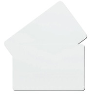 Carte RFID / T5577 / T5557 ISO11785 125KHZ blanche en plastique blanche puce intelligente de carte vierge d'ICMEL de proximité de haute qualité ATMEL T5577 pour la carte 100PCS