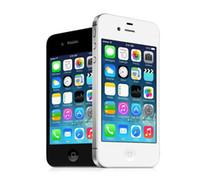 تم تجديده iPhone 4S 16GB 100 ٪ الأصلي ابل اي فون الهاتف الذكي مفتوح IOS ثنائي النواة 3.5 بوصة