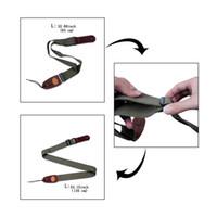 Klassischer Gitarrengurt weiche echte Ledergürtelhalter für akustische elektrische Bassgitarre proffessional Gitarrengurtgurt