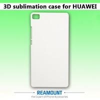 화웨이 명성을위한 새로운 3D DIY 무광택 광택 광택 승화 케이스 4C 5A 5C 6plus 7 8 인치 Full Area Printed Phone Case