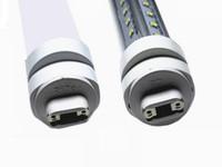 UL R17D T8 LED TUBE 4FT 5FT 6FT 8FT V-образный светодиодный свет пробирки 270 угол Охладитель освещения AC 85-265V Бесплатная доставка Myy