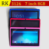 7 inch RK3126 Quad Core Tablet PC Android 4. 4 1. 2GHz Dual ca...