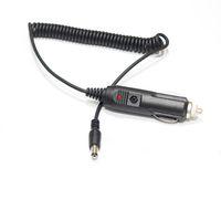 고품질 자동차 충전기 자동 시가 라이터 12V 24V 자동차 전원 공급 장치 어댑터 플러그 충전기 5.5mm x 2.1mm 스프링 케이블