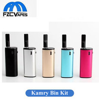 Kit original Kamry Bin Kit 650mah Top Refilling Bud Touch Vape Pen Starter Kit avec 0.3ml CE3 Atomizerr Portable Vaporizer Cigarette électronique