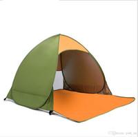 Outdoor 2 tenda da spiaggia completamente automatica tenda da spiaggia doppia per frangisole ad apertura rapida e veloce picnic impermeabile super pesca201
