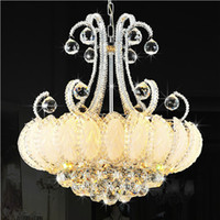 Modern Crystal Chandeliers Lighting Silver Gold Chandelier L...