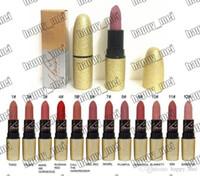 EPACKET NUOVA TRUCCO TRUCCO LABO GOLD TUBO Rossetto opaco! 9 colori diversi