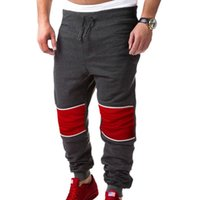 Männer Spleiße Baggy Jogger Casual Hosen Hosen Harem Sweatpants Lose Hip Hop Dance Cool Hosen